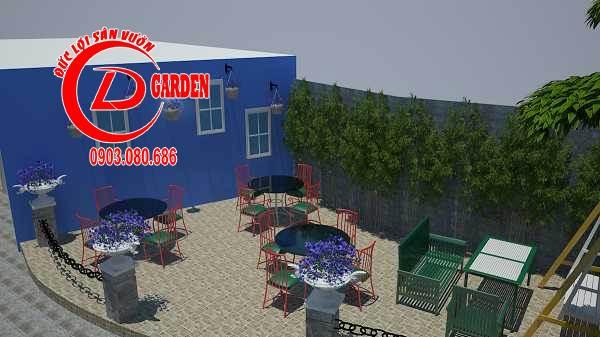 Công Trình Thi Công Quán Cafe Paradise 5