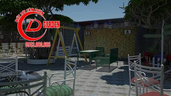 Công Trình Thi Công Quán Cafe Paradise 6