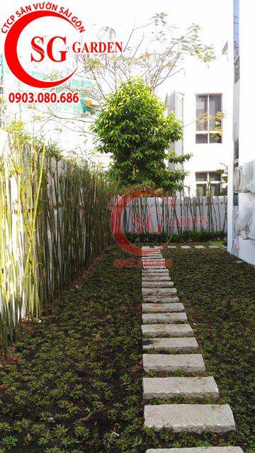 Công trình thi công sân vườn anh Sơn quận 9 19