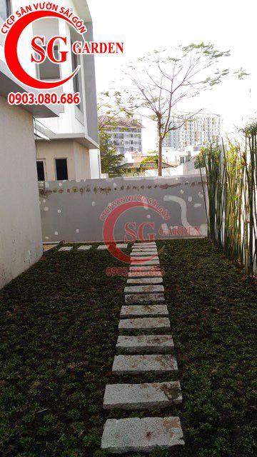 Công trình thi công sân vườn anh Sơn quận 9 21