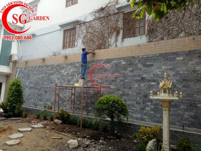 Thi công vườn nhà cô Vân Bình Thạnh 5