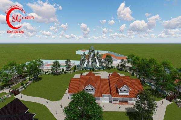 Thiết kế cảnh quan resort Khánh Vân Phú Quốc 2