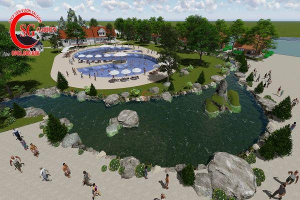 Thiết kế cảnh quan Resort
