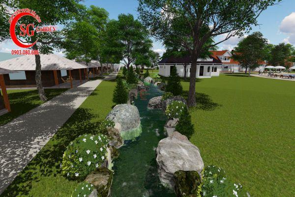 Thiết kế cảnh quan resort Khánh Vân Phú Quốc 7