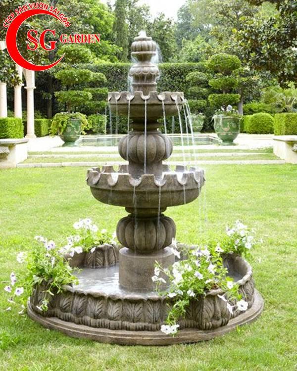 thiết kế thi công đài phun nước 13
