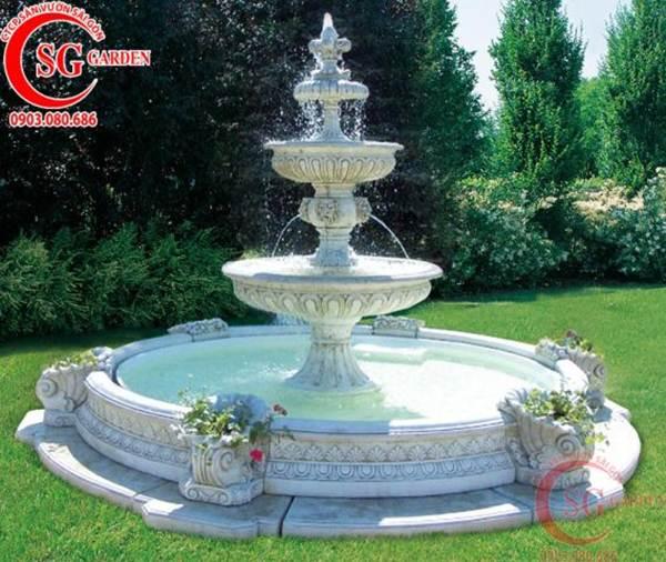 thiết kế thi công đài phun nước 34