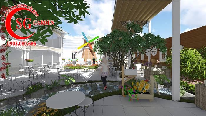 Thiết Kế Quán Cafe Long Thành Đồng Nai 10