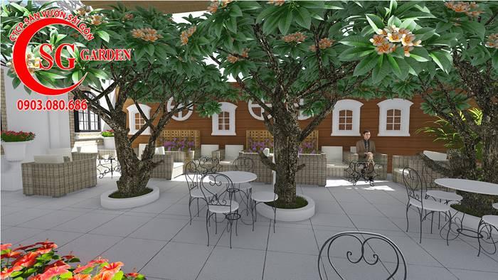 Thiết Kế Quán Cafe Long Thành Đồng Nai 13