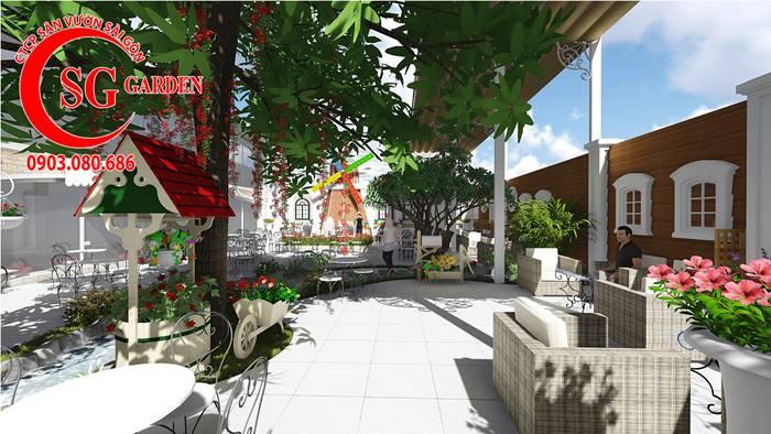 Thiết Kế Quán Cafe Long Thành Đồng Nai 7