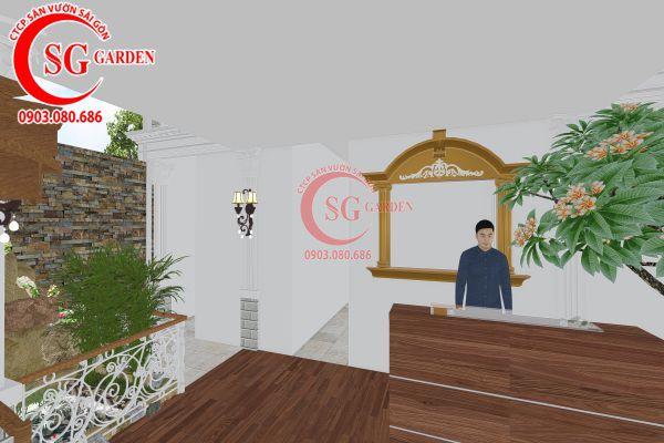 Thiết kế quán cafe Me tây Rạch Gía 13