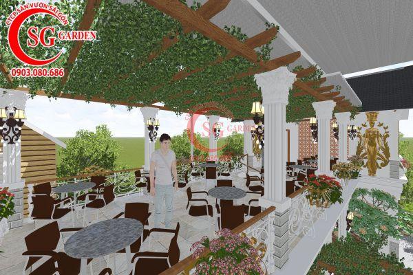 Thiết kế quán cafe Me tây Rạch Gía 15