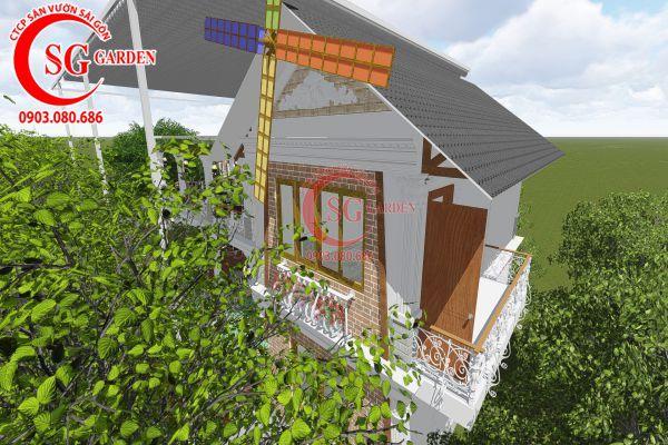 Thiết kế quán cafe Me tây Rạch Gía 17