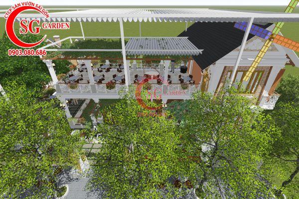 Thiết kế quán cafe Me tây Rạch Gía 3