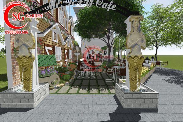 Thiết kế quán cafe Me tây Rạch Gía 4