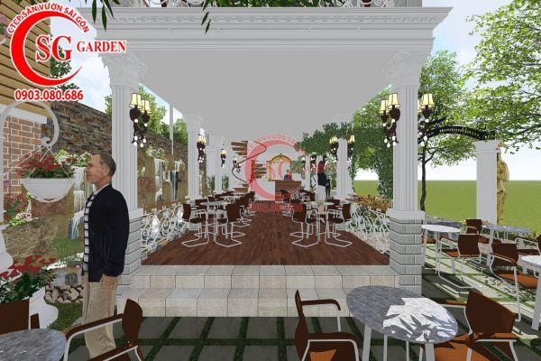 Thiết kế quán cafe Me tây Rạch Gía 8