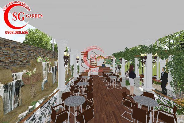 Thiết kế quán cafe Me tây Rạch Gía 9