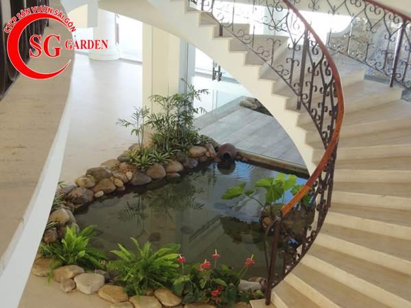 Thiết kế thi công hồ cá Koi tuyệt đẹp 11