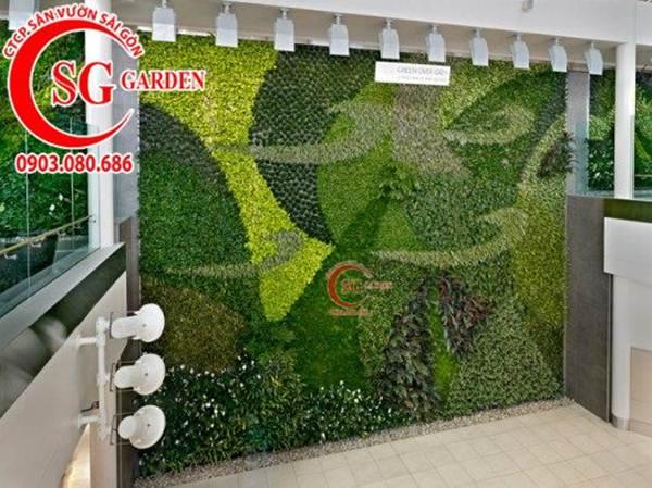 Thiết kế thi công vườn tường 11