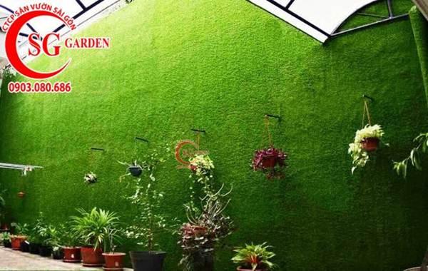 Thiết kế thi công vườn tường 21