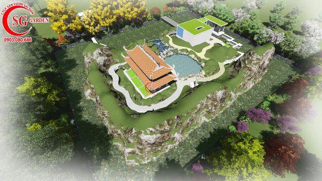 Sân Vườn Từ Đường Anh Cường Gò Dầu Tây Ninh 8