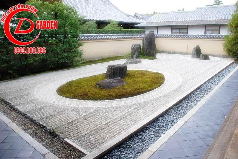 Sân Vườn Karesansui 1