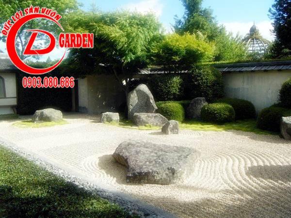 Sân Vườn Karesansui 2