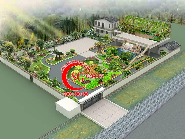 Sân Vườn Đường Thành Thái 1