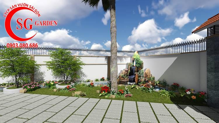 Sân Vườn Đường Thành Thái 3