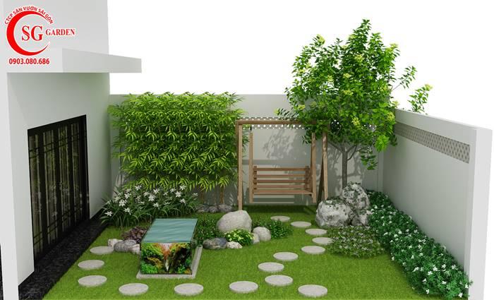 Sân Vườn Đường Thành Thái 4