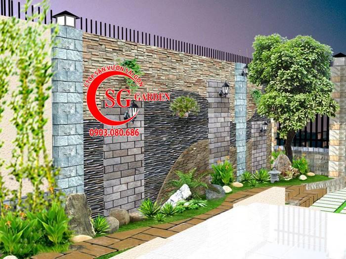 Sân Vườn Ngã Tư Hóc Môn 2