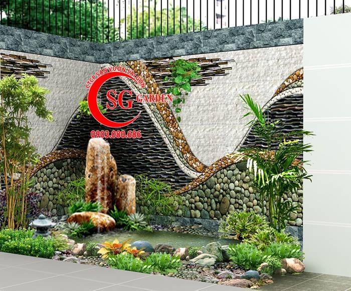 Sân Vườn Ngã Tư Hóc Môn 5