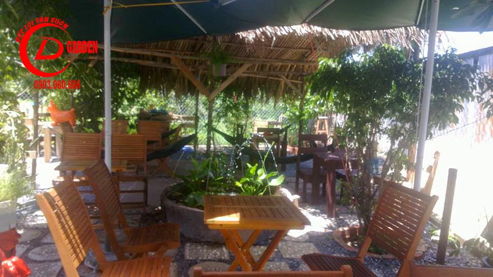Thi Công Quán Cafe Mái Lá 6