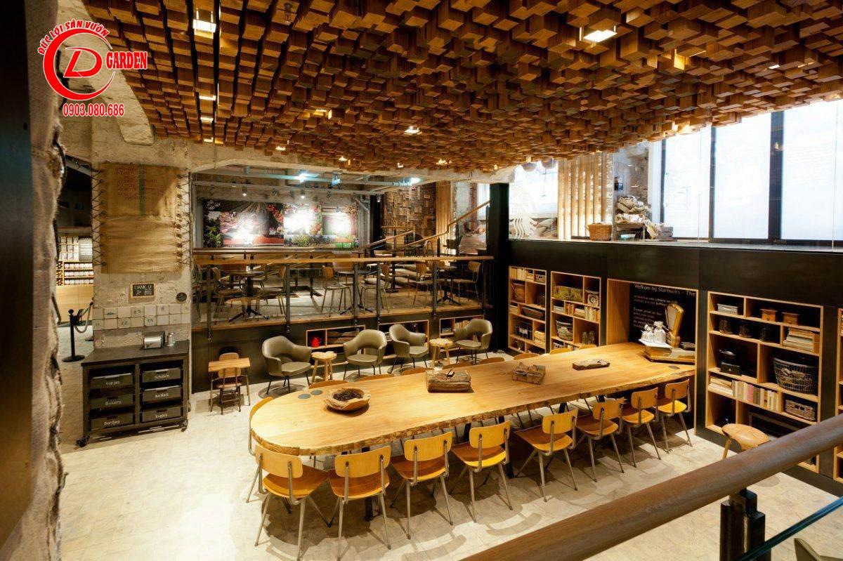 Thi Công Quán Cafe Sài Gòn 10