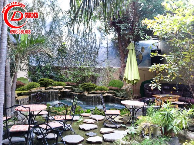 Thiết Kế Cafe Sân Vườn 1