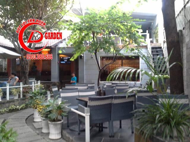 Thiết Kế Cafe Sân Vườn 3