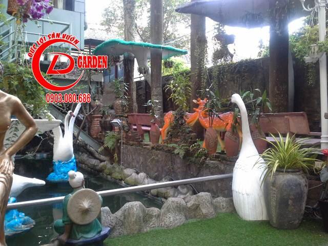 Thiết Kế Cafe Sân Vườn 5