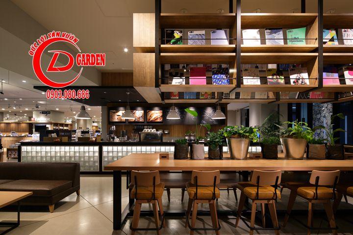 Thiết Kế Quán Cafe Sách Phong Cách Nhật Bản 12