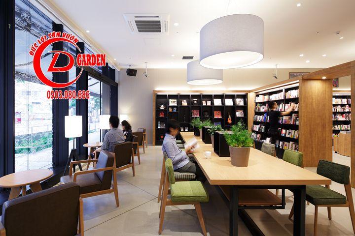 Thiết Kế Quán Cafe Sách Phong Cách Nhật Bản 3