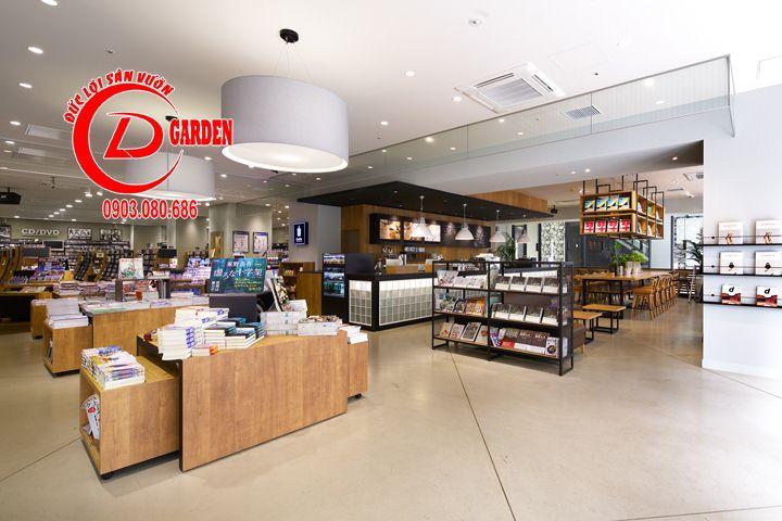 Thiết Kế Quán Cafe Sách Phong Cách Nhật Bản 5