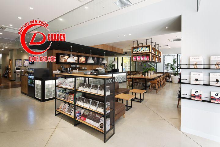 Thiết Kế Quán Cafe Sách Phong Cách Nhật Bản 7