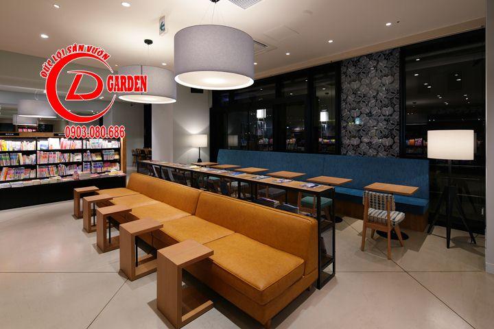 Thiết Kế Quán Cafe Sách Phong Cách Nhật Bản 8