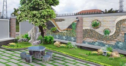 Thiết Kế Vườn Tường