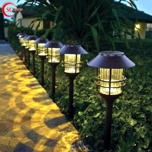 đèn nấm sân vườn 1
