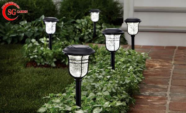 đèn nấm sân vườn 2