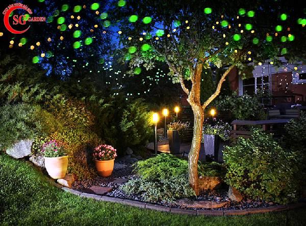đèn trang trí sân vườn 16