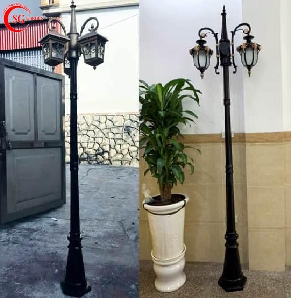 đèn trụ sân vườn cao 2