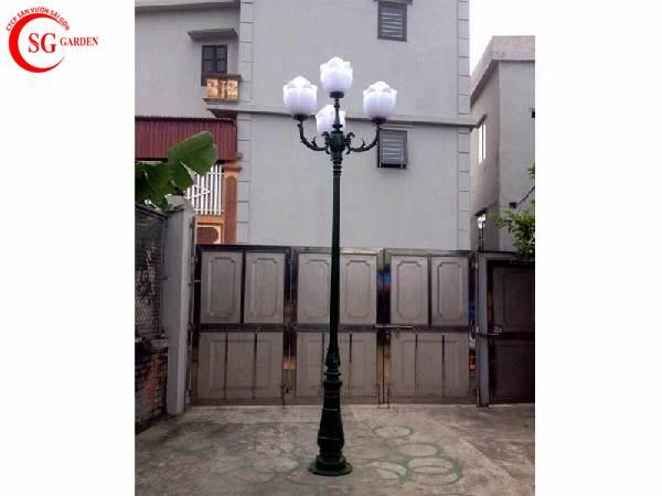 đèn trụ sân vườn cao 1
