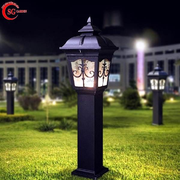 đèn trụ sân vườn thấp 2