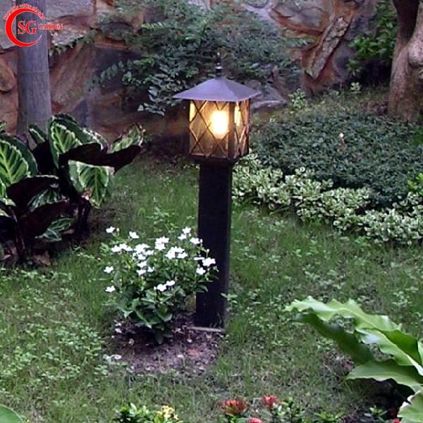 đèn trụ sân vườn thấp 1