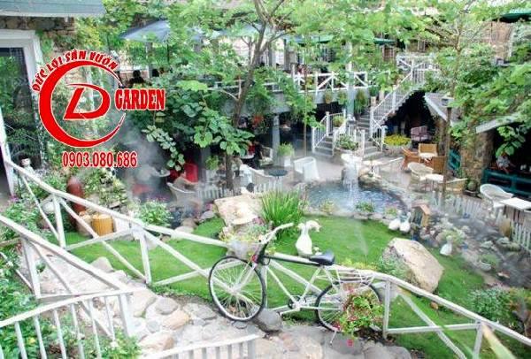 quán cafe nhiều cây xanh 2